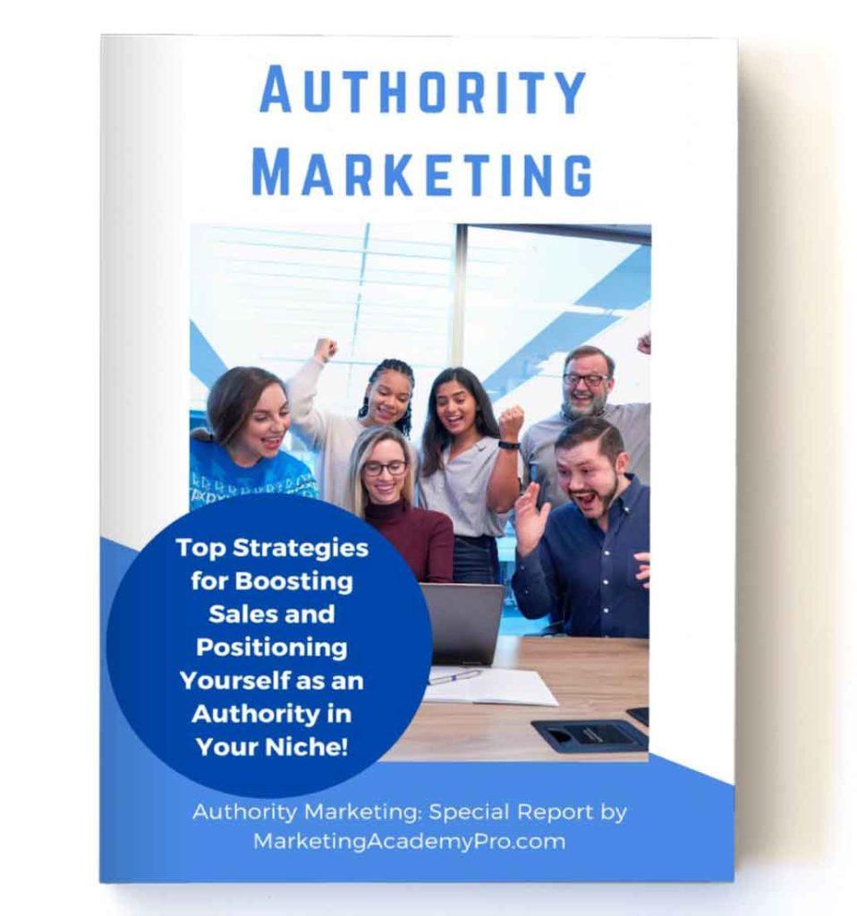 Authority Marketing eBook